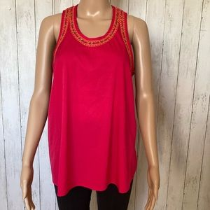 Cynthia Rowley Embroidered Tank